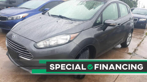 2015 Ford Fiesta for sale at Automay Car Sales in Oklahoma City OK
