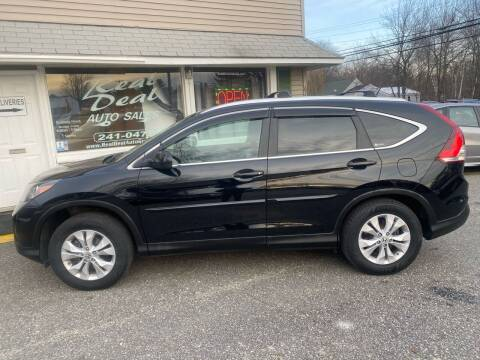 2012 Honda CR-V for sale at Real Deal Auto Sales in Auburn ME