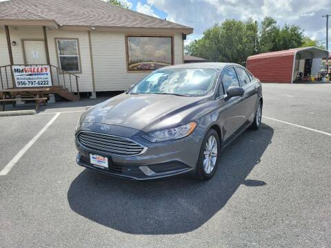 2017 Ford Fusion for sale at Mid Valley Motors in La Feria TX