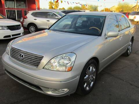 2001 Lexus LS 430 for sale at More Info Skyline Auto Sales in Phoenix AZ