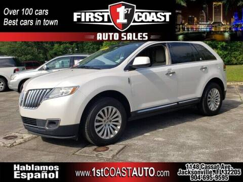2011 Lincoln MKX for sale at 1st Coast Auto -Cassat Avenue in Jacksonville FL