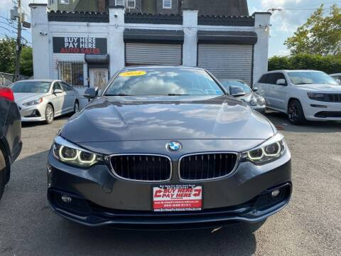 2018 BMW 4 Series for sale at Buy Here Pay Here Auto Sales in Newark NJ