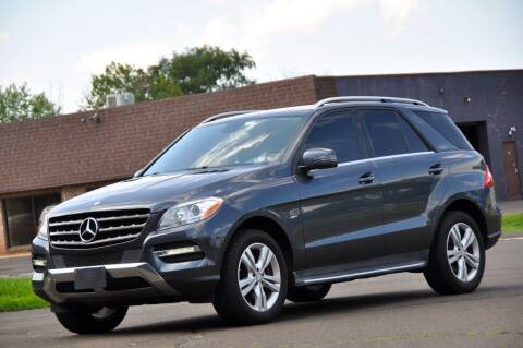 2012 Mercedes-Benz M-Class for sale at T CAR CARE INC in Philadelphia PA
