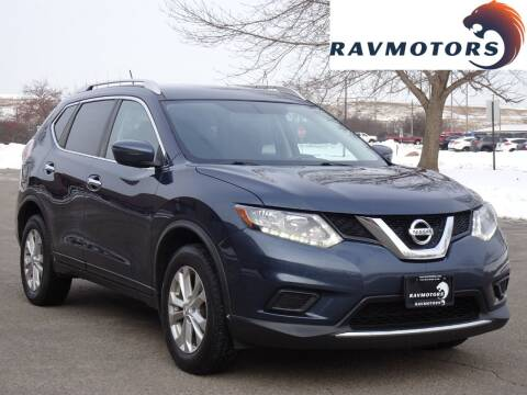 2016 Nissan Rogue for sale at RAVMOTORS in Burnsville MN