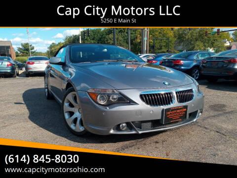 2007 BMW 6 Series for sale at Cap City Motors LLC in Columbus OH