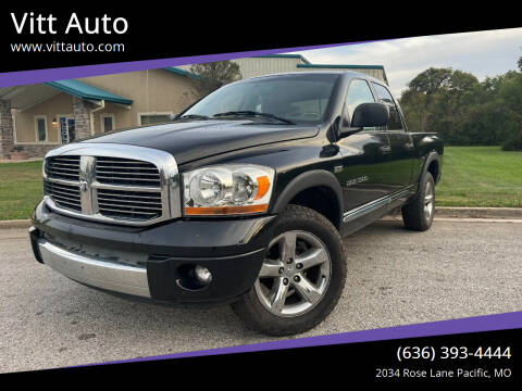2006 Dodge Ram Pickup 1500 for sale at Vitt Auto in Pacific MO