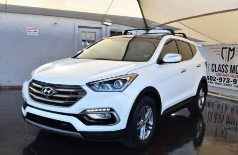 2017 Hyundai Santa Fe Sport for sale at 1st Class Motors in Phoenix AZ