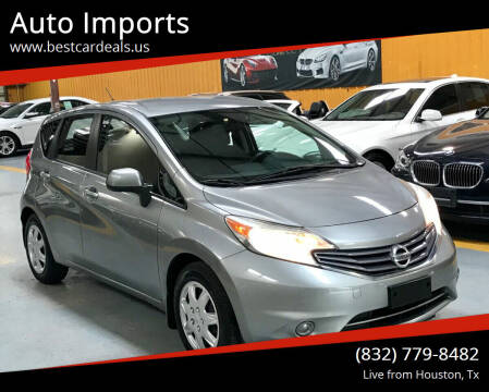 2014 Nissan Versa Note for sale at Auto Imports in Houston TX