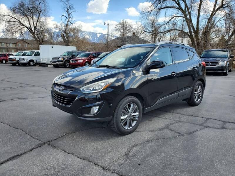2014 Hyundai Tucson for sale at UTAH AUTO EXCHANGE INC in Midvale UT