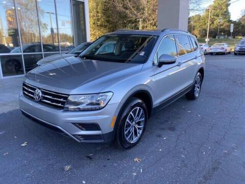2019 Volkswagen Tiguan for sale at Credit Union Auto Buying Service in Winston Salem NC