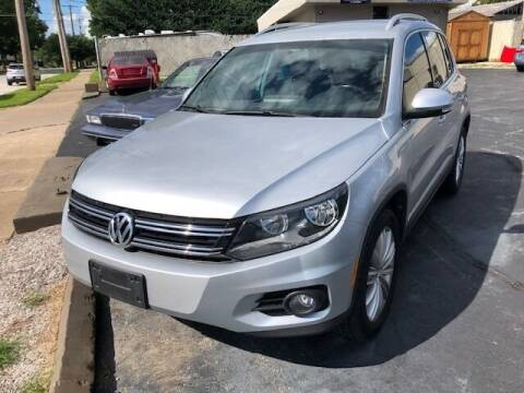 2014 Volkswagen Tiguan for sale at RT Auto Center in Quincy IL