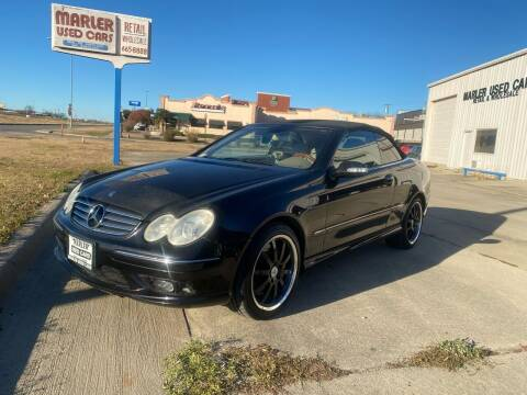2004 Mercedes-Benz CLK for sale at MARLER USED CARS in Gainesville TX