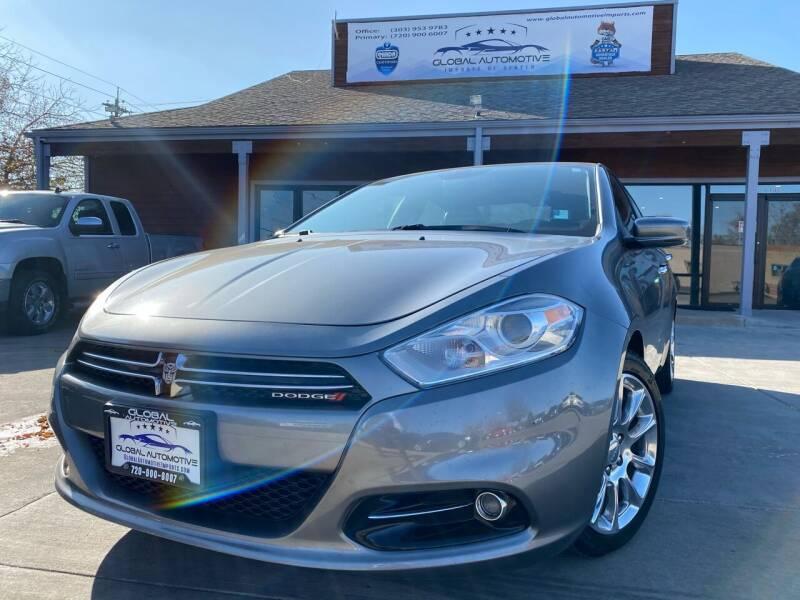 2013 Dodge Dart for sale at Global Automotive Imports of Denver in Denver CO