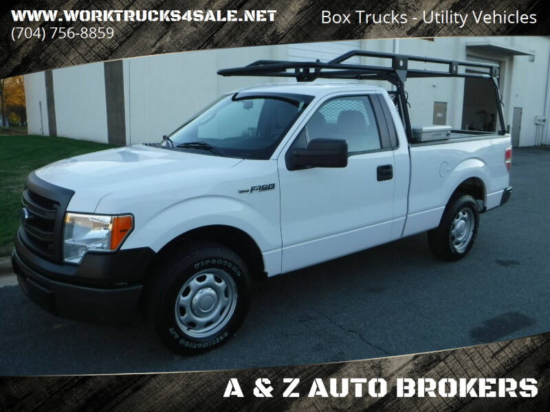 2014 Ford F-150 for sale at A & Z AUTO BROKERS in Charlotte NC