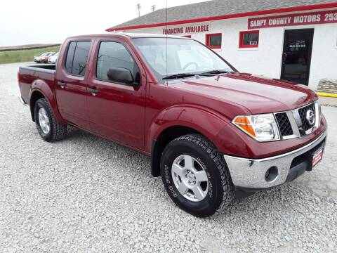 2006 Nissan Frontier for sale at Sarpy County Motors in Springfield NE