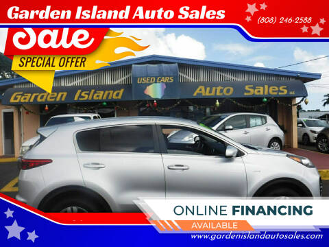 2017 Kia Sportage for sale at Garden Island Auto Sales in Lihue HI