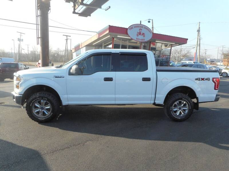 2016 Ford F-150 for sale at The Carriage Company in Lancaster OH