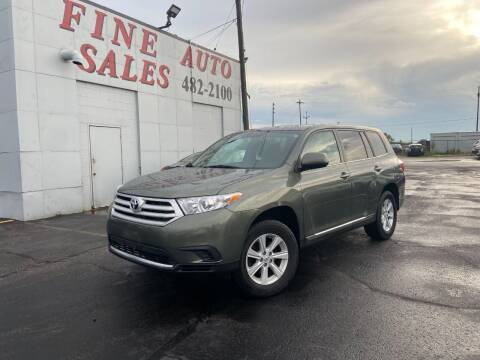 2013 Toyota Highlander for sale at Fine Auto Sales in Cudahy WI