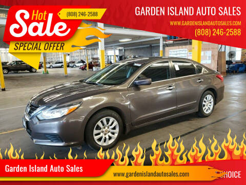 2017 Nissan Altima for sale at Garden Island Auto Sales in Lihue HI