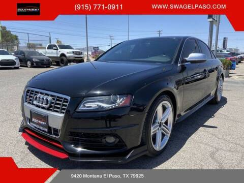 2012 Audi S4 for sale at SOUTHWEST AUTO GROUP-EL PASO in El Paso TX