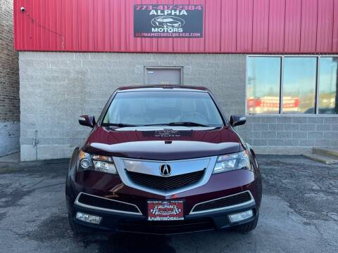 2013 Acura MDX for sale at Alpha Motors in Chicago IL