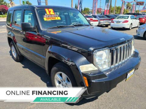 2012 Jeep Liberty for sale at Super Cars Sales Inc #1 - Super Auto Sales Inc #2 in Modesto CA