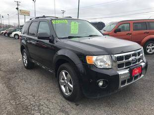 2010 Ford Escape for sale at FUSION AUTO SALES in Spencerport NY