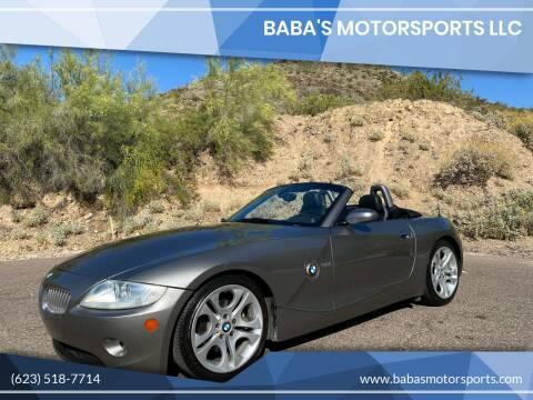 2005 BMW Z4 for sale at Baba's Motorsports, LLC in Phoenix AZ
