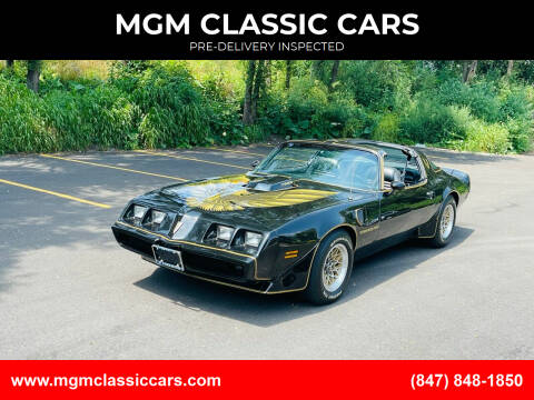 1979 Pontiac Trans Am for sale at MGM CLASSIC CARS-New Arrivals in Addison IL
