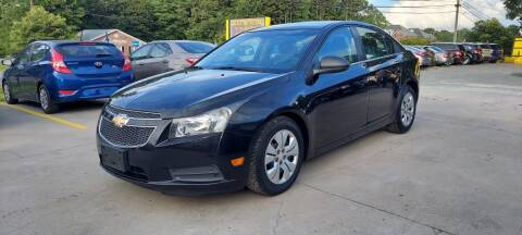 2012 Chevrolet Cruze for sale at DADA AUTO INC in Monroe NC