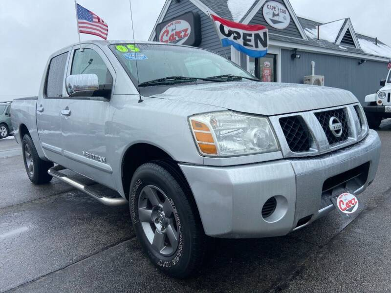 2005 Nissan Titan for sale at Cape Cod Carz in Hyannis MA