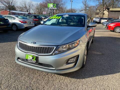 2016 Kia Optima Hybrid for sale at BK2 Auto Sales in Beloit WI