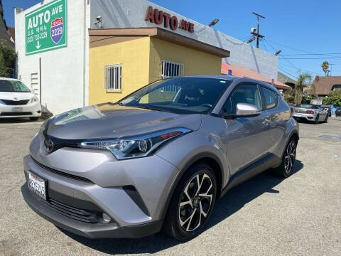 2018 Toyota C-HR for sale at Auto Ave in Los Angeles CA