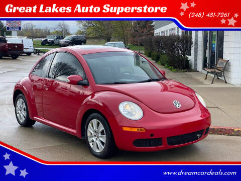 2010 Volkswagen New Beetle for sale at Great Lakes Auto Superstore in Pontiac MI