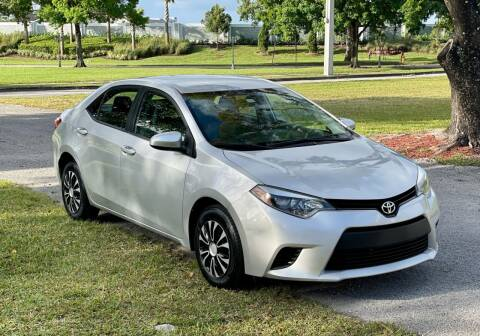 2016 Toyota Corolla for sale at Sunshine Auto Sales in Oakland Park FL