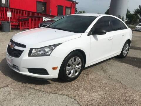 2014 Chevrolet Cruze for sale at Talisman Motor City in Houston TX