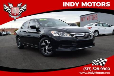2017 Honda Accord for sale at Indy Motors Inc in Indianapolis IN