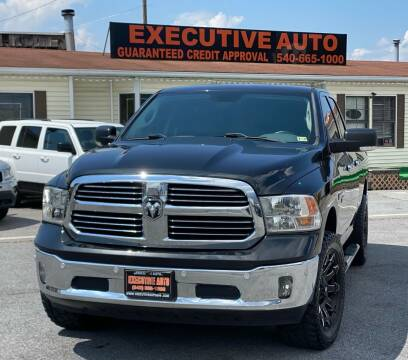 2016 RAM Ram Pickup 1500 for sale at Executive Auto in Winchester VA