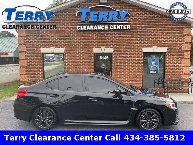 2015 Subaru WRX for sale at Terry Clearance Center in Lynchburg VA