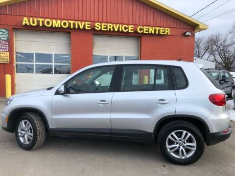 2012 Volkswagen Tiguan for sale at ASC Auto Sales in Marcy NY