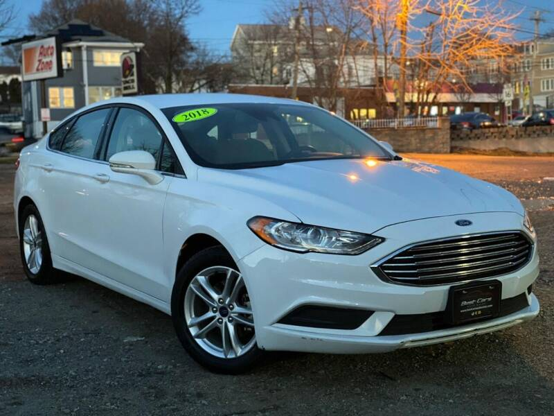 2018 Ford Fusion for sale at Best Cars Auto Sales in Everett MA