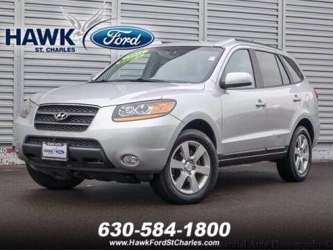2008 Hyundai Santa Fe for sale at Hawk Ford of St. Charles in St Charles IL
