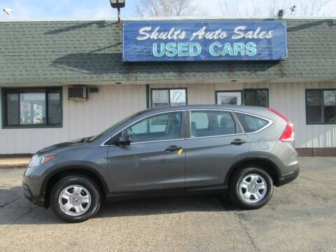 2013 Honda CR-V for sale at SHULTS AUTO SALES INC. in Crystal Lake IL