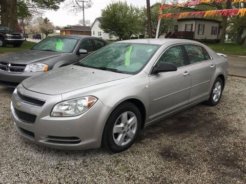 2008 Chevrolet Malibu for sale at Antique Motors in Plymouth IN