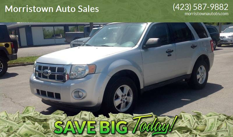 2011 Ford Escape for sale at Morristown Auto Sales in Morristown TN