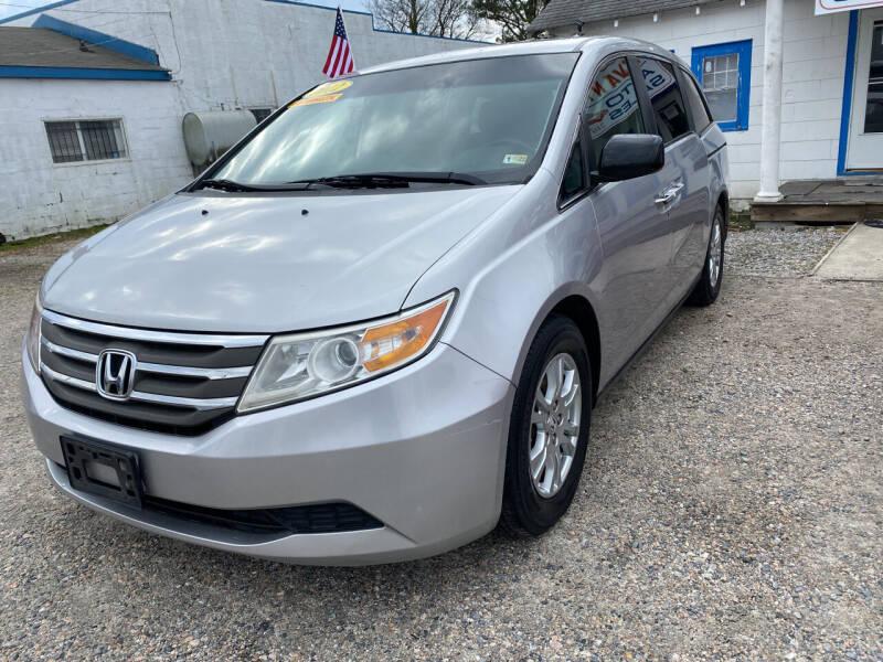 2012 Honda Odyssey for sale at Advantage Motors in Newport News VA