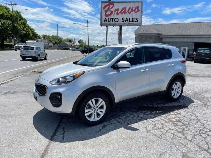 2018 Kia Sportage for sale at Bravo Auto Sales in Whitesboro NY
