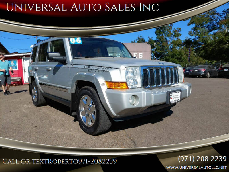 2006 Jeep Commander for sale at Universal Auto Sales Inc in Salem OR