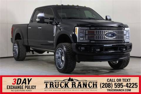 2017 Ford F-350 Super Duty for sale at Truck Ranch in Twin Falls ID