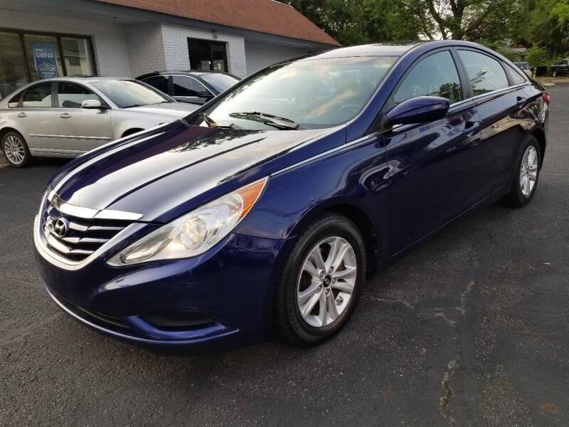 2011 Hyundai Sonata for sale at Cedar Auto Group LLC in Akron OH